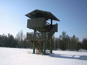 Apžvalgos bokštelis Musteikoje. Fotografavo Vaida Ilginytė.