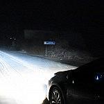 Užklupusi žiema prie Metelių nebuvo palanki monitoringui. Ovidiu Banea nuotrauka.