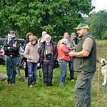 Apie savo ūkį ir jo apsaugą nuo vilkų pasakoja vietos ūkininkas.