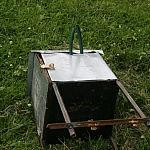 8. Sumeistrauta dėžė akumuliatoriui