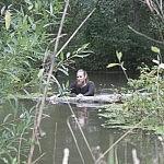 Nuotraukos autorius: Tadas Petrikas. Vandens daugėja, tačiau tvirtai žengiame tolyn